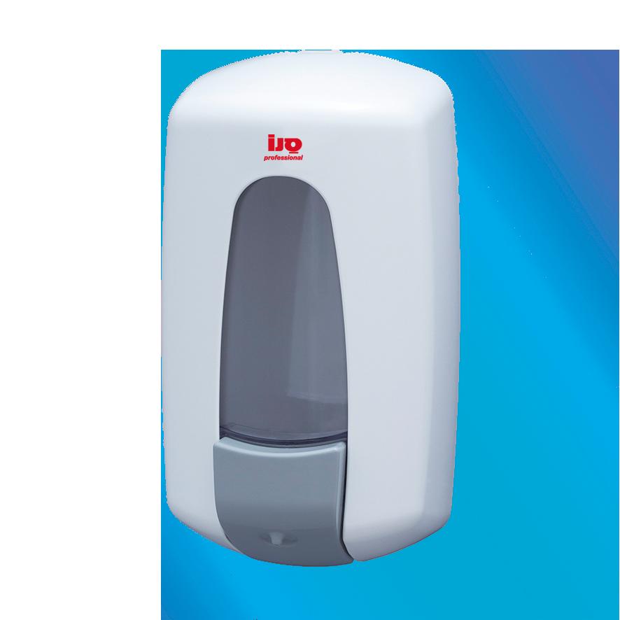 מתקן לסבון 1 ליטר לבן AC70002