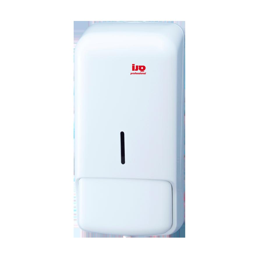 מתקן לסבון 1 ליטר לבן למילוי שקית AC80002