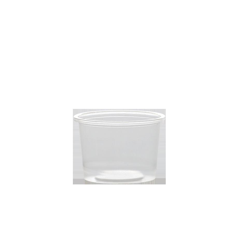 "כוס 100 סמ""ק שקופה"