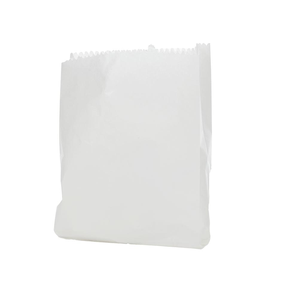 שקית נייר 7 לבן