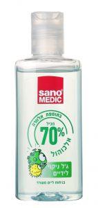 סנו ג'ל חיטוי 70% אלכוהול אלוורה