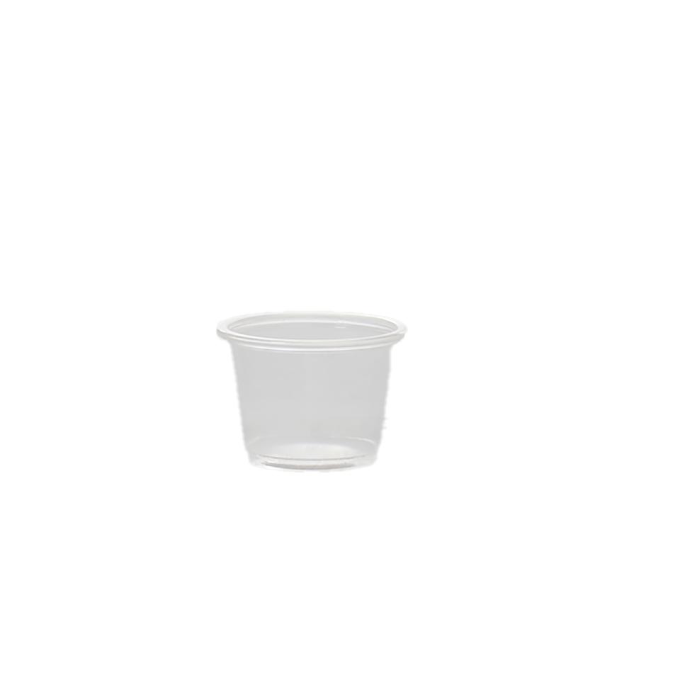 גביע פלסטיק 1 OZ
