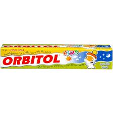 אורביטול קיד בטעם מסטיק