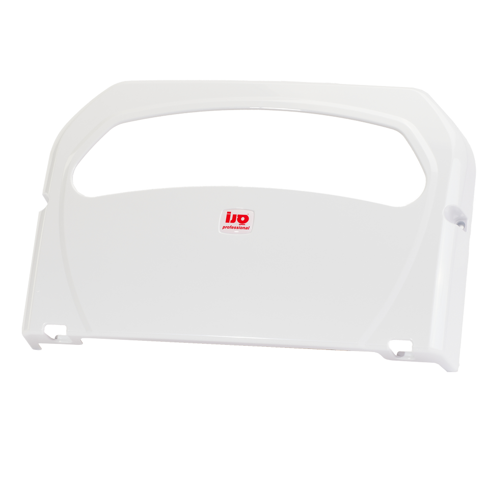 מתקן לנייר אסלה פלסטיק לבן 1/2 K7
